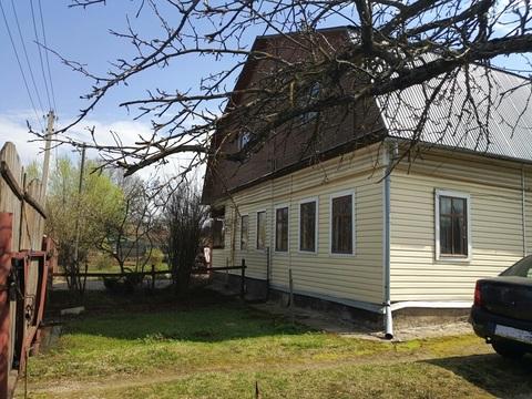 Часть дома с участком 25 соток в г. Кубинка