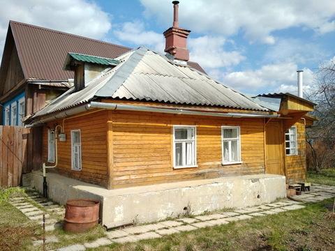 Дом с газом в деревне вблизи ж/д станции
