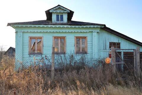 Бревенчатый дом 56 кв.м на участке 23с