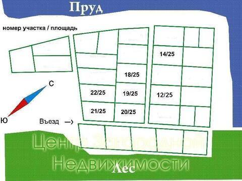 Участок, Симферопольское ш, 60 км от МКАД, Каргашиново, Коттеджный .