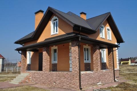 Дом кирпичный 203,4 м2 на участке 12 соток с. Душоново, Щелковский .