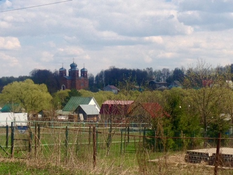 Участок 11 соток в деревне Марьинское, Ступинский район, ул. Заречная