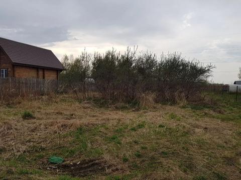 Земельный участок 10 соток в районе д. Спиридово, СНТ Росток