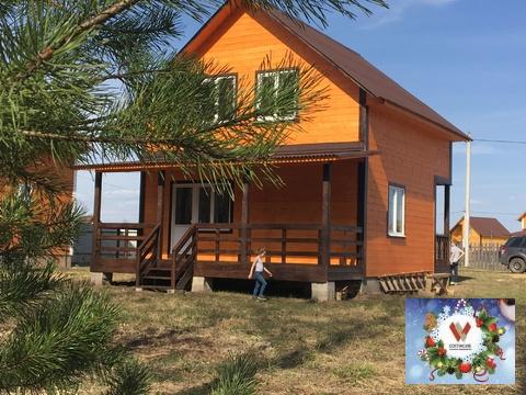 Новый дом 110 кв.м на солнечное место, сосновый бор