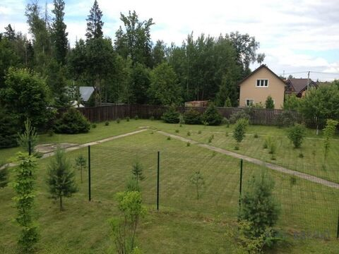 Лесной участок 14 соток, зимний жилой дом 2009 г. с баней . .