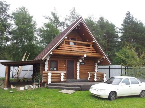 Продается жилой дом-баня на участке 23 сот в п.Гжель, Раменский район