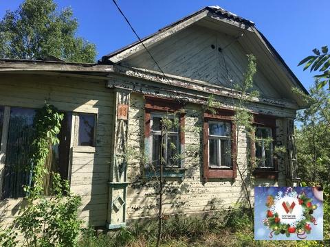 Аленино д, рубленный дом 21 сотка, заведен газ , жилая деренвя