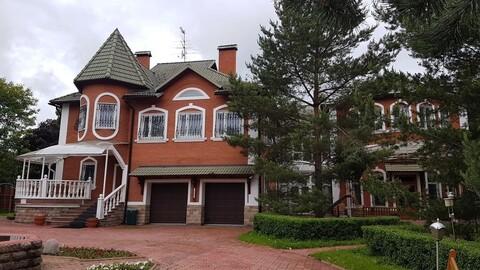 Дом 950м2 на участке 50сот. кп Лесное-Озерное. Новогорск