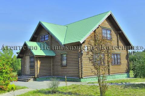 КИЗ Гамби. Наро-Фоминск. Эксклюзивная усадьба из бревна 285 м 90 соток