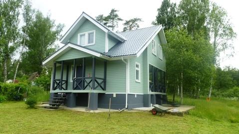 Дом 100 кв.м. в с. Аксиньино, Ступинского р-на на участке 20 соток
