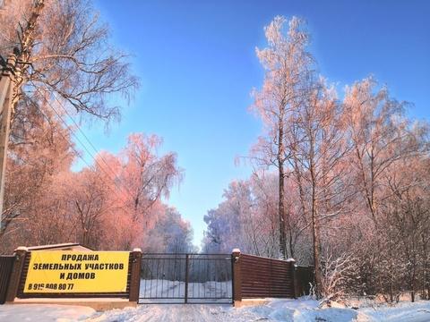 Продаётся участок с лесными деревьями рядом с горнолыжным парком