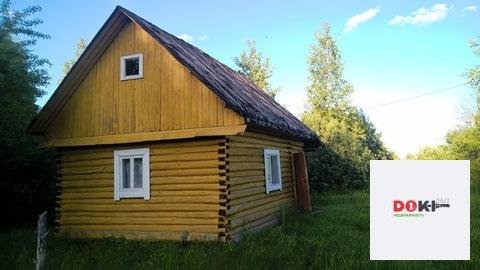 Продается 1-этажная бревенчатая дача 50 кв. м.