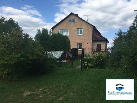Дом 3 этажа из кирпича в деревне Игумново рядом с Москва рекой, + баня