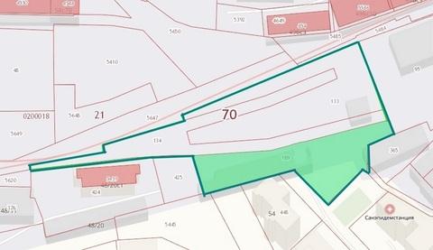 Земельный участок под многоэтажное строительство в Томске