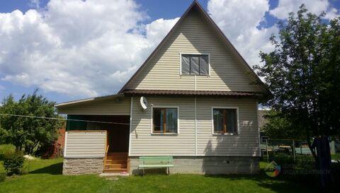 Новый дом ПМЖ, рядом с Москвой, на участке 9 соток