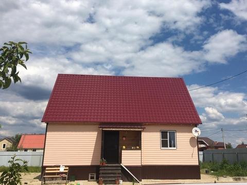 Дом каркасно-щитовой, утепленный, 120 (кв.м). Участок 12 соток.