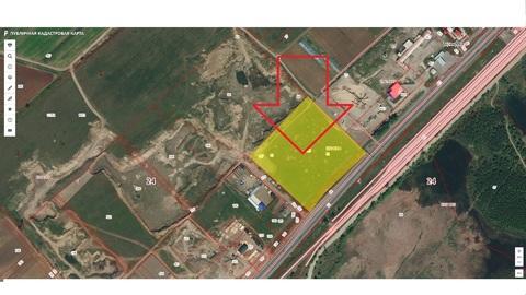 Продам земельный участок 0,5 га под Базу возле д.Терентьево