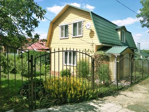 Дом 123 кв.м на участке 6 соток вблизи реки Ока.