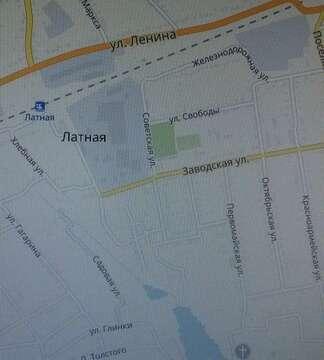 Продажа участка, Латная, Семилукский район, Ул. Глинки