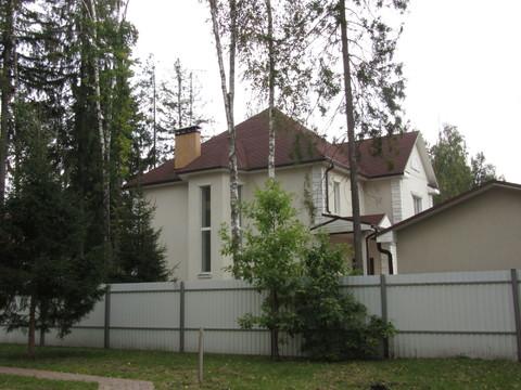 Готовый коттедж, гараж, лес, Минское шоссе, центральн. коммун, охрана