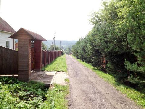 Участок в жилой деревне.