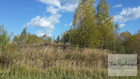 Участок 15 соткок в деревне Поповка Чеховского района