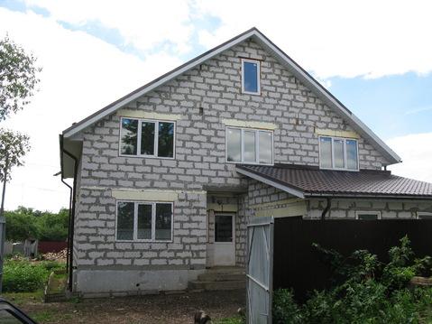 Новый большой дом в деревне Щепотьево Коломенского района