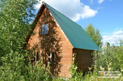 Дача (дом+баня) на участке 12сот в деревне Посаденки Волоколамский р-н