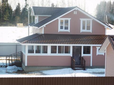 Дом из бруса 145 кв.м. на земельном участке 14 соток. Киевское шоссе