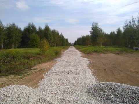 Участок в деревне Большое Петровское ИЖС Чеховский район