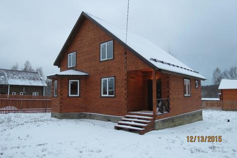 Дом с Газом, 12 соток, д. Нововоскресенское