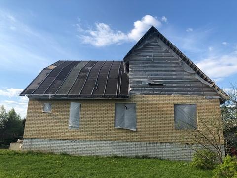 Продается недостроенный кирпичный дом в Карабаново по ул. Южной