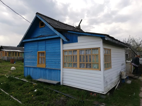 Дачный домик с участком 9 соток в д. Трубичино Новгородского района