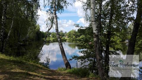 Участок 24 сотки с Лесными деревьями у пруда в д. Поповка Чех. р-а