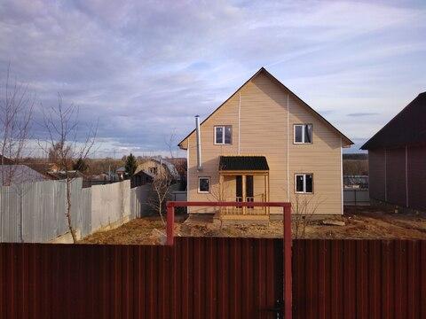 Купить дом из бруса в Домодедовском районе д. Овчинки
