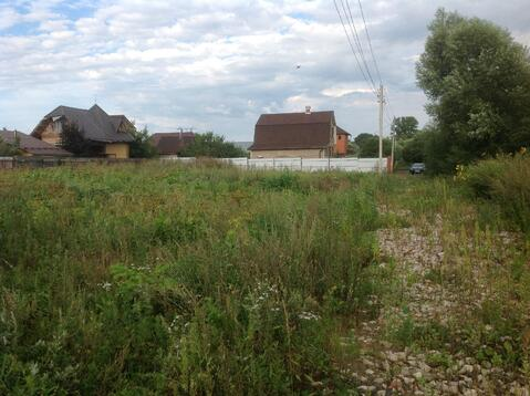 Участок 12 сот. , Ярославское ш, 8 км. от МКАД.