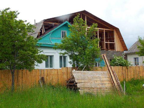 Кирпичный двухкомнатный дом с г/о в г. Вичуга Ивановской области
