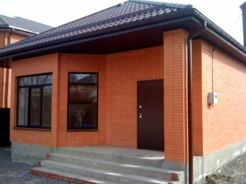 Новый кирпичный дом 100 кв.м