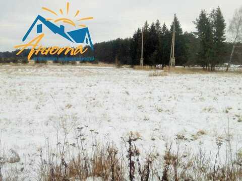 Участок 17 соток в Калужской области деревне Черная грязь.
