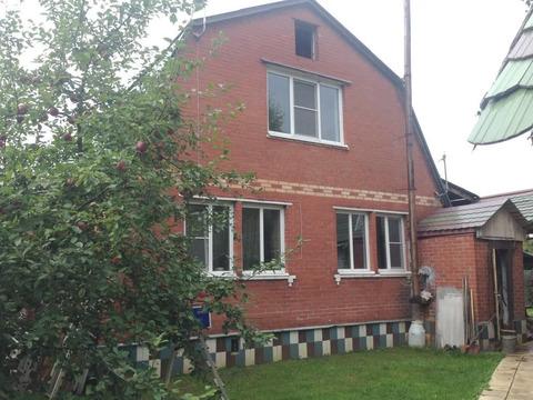Дом 148,2кв.м. на 8,2сот в СНТ Овощевод в с. Кудиново Носовихинское ш.