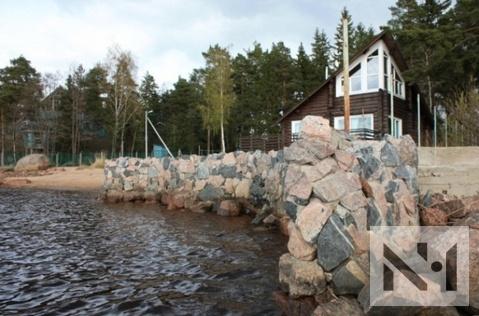 Коттедж 120 кв. м на берегу Финского залива на базе отдыха старт