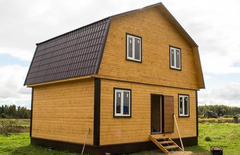Новый дом в газифицированной деревне