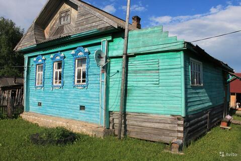 Дом бревенчатый д. Спас, Даниловский р-н