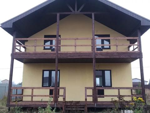 Продается новый блочный дом 155м д. Петровское, Раменский район