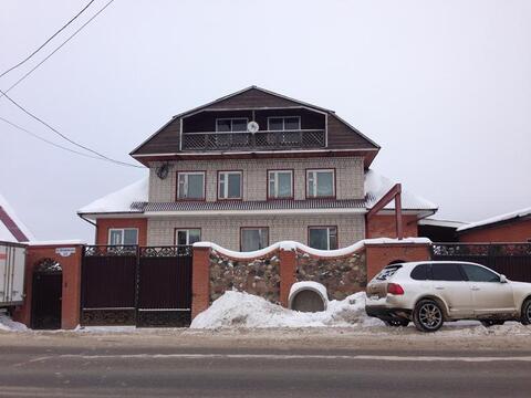 Кирпичный коттедж в г. Конаково.