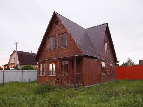 Дом 33 кв.м, Участок 6 сот. , Новорязанское ш, 20 км. от МКАД.
