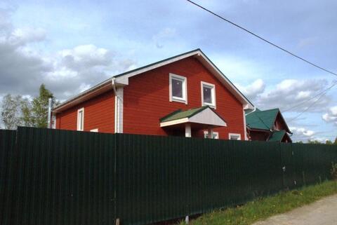 Новый дом в СНТ для круглогодичного отдыха