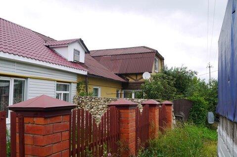 Продается 1/2 часть дома в г. Кашира по ул. Каляева, д. 42. на участке