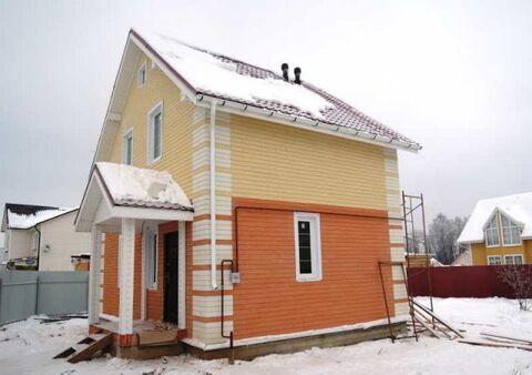 Новый деревянный домик в Олимпийской деревне.