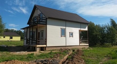 Дом в развивающимя котеджном поселке